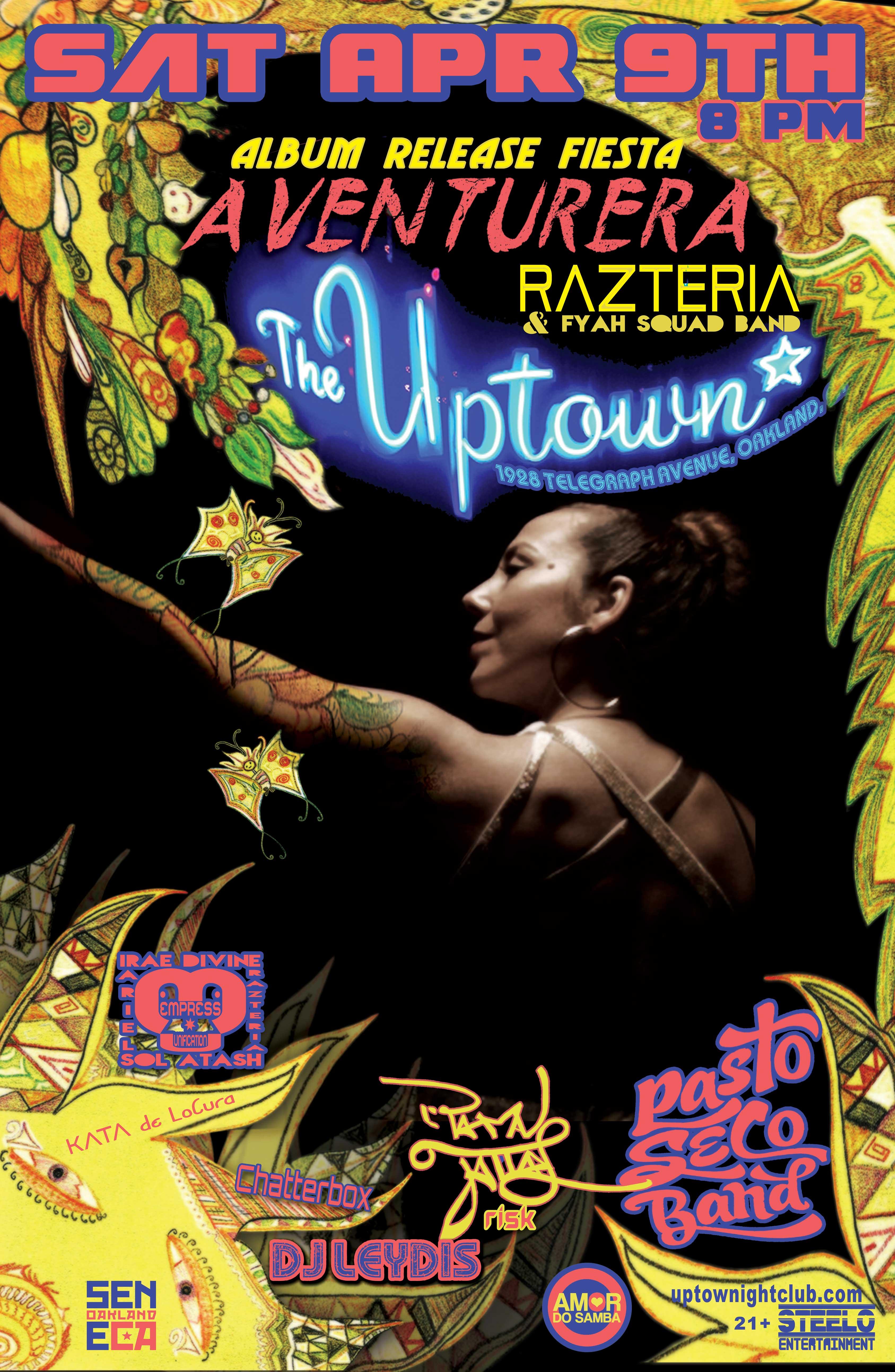 Razteria's Aventurera Album Release
